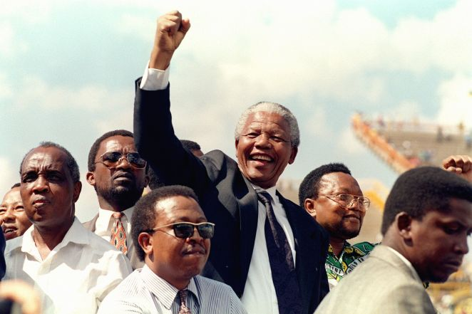 South African National Congress (ANC) President Ne